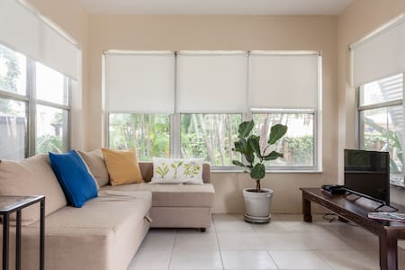 Private guest house 5min from beach - Pompano Beach
