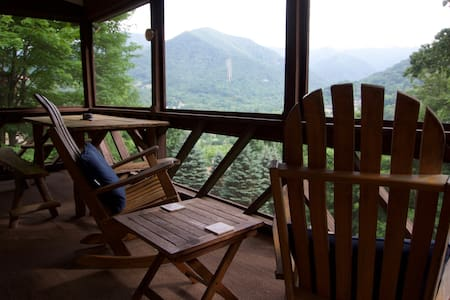 Valley Vista: Amazing View 2 BR / 2 BA Home / Wifi - Maggie Valley