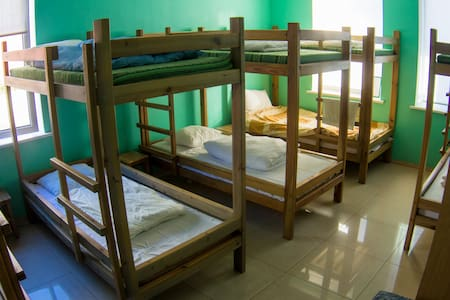 One bed in 10-bed Mixed dorm - Guesthouse