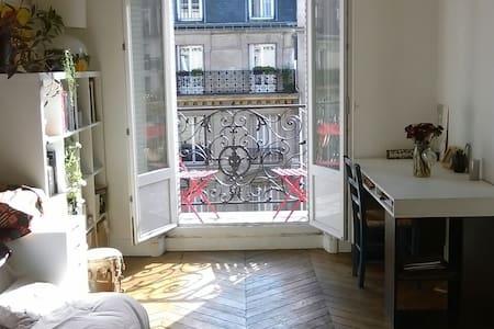 Typical Paris flat + balcony