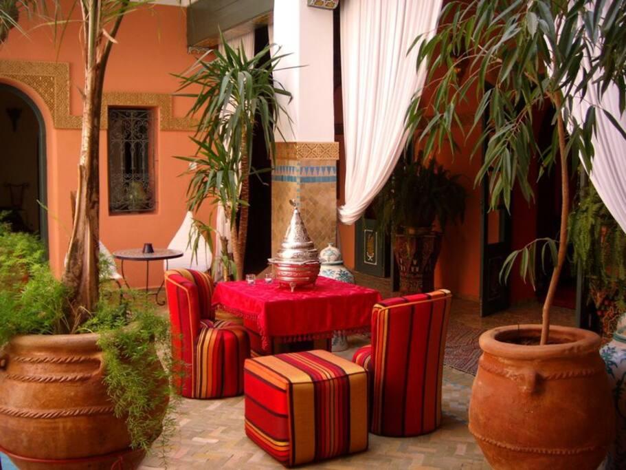 Sahada room in riad guesthouse