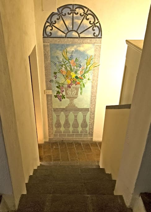 Casa Remo - steps to the bedrooms