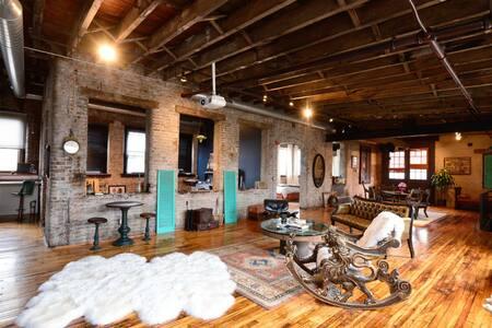 Unique, Funky Loft Philadelphia - Philadelphia