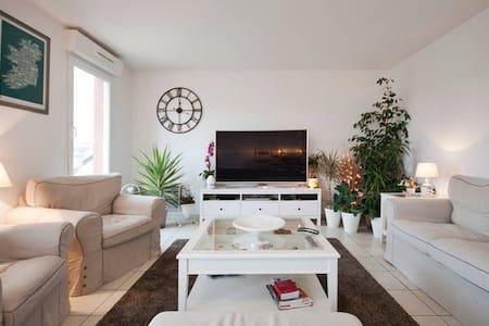 Chambre indépendante et confortable en ville - Évreux - Appartamento
