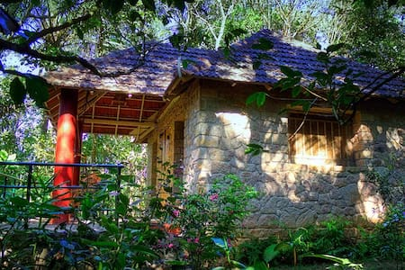 Eco cottage in Thekkady - Casa