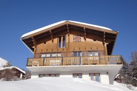 Chalet Stefanino 1, Swiss Alps - Bellwald - Apartment