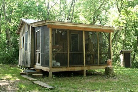 Secluded Cabin Artist Retreat - Wellsburg - Cabin