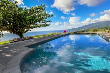 Villa Mahogany 3 Ch piscine et vue - Le Carbet - Villa