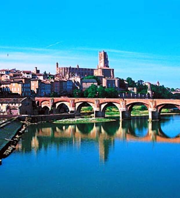 Albi, cité épiscopale classée au patrimoine mondial de l'Unesco