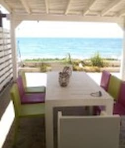 2 Bedroom House, on the beach - Haus