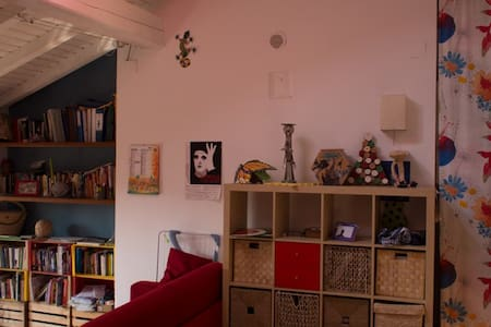 Lovely bright loft apartment - Paderno d'Adda - Apartment