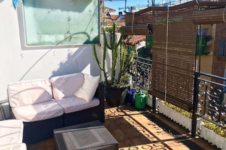 Cute apartment with terrace - RUNNING OF THE BULLS - Pamplona - Apartment