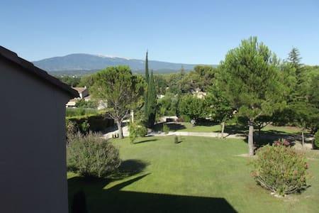 Villa, piscine et Mont Ventoux - Mazan