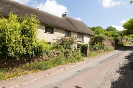 Beautiful thatched Devon longhouse - Maison