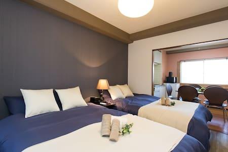 Tokyo Neat2BR 5minSTA nr Ueno EasyAccess TV+WiFi - Apartmen