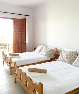 [3] - Cozy apartment in Tyros beach - Daire