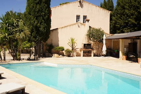 Charming house with salt water pool - Dom