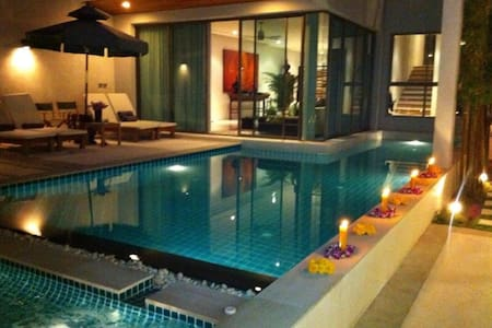 Great private 3 storey sea-view villa in Phuket - Rawai - Huis