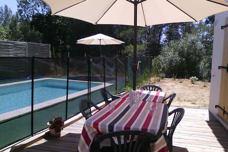 Villa avec piscine privative max 6 - Saint-Laurent-de-la-Cabrerisse