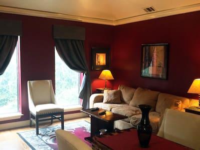 Private In-law Suite in quiet house on the bayou. - Houston - Ház