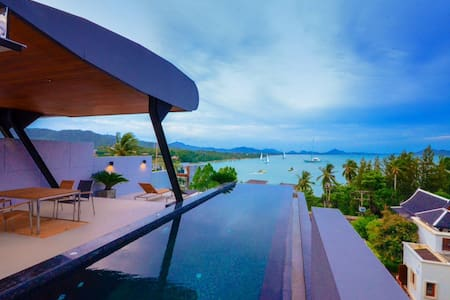 Holiday Private Sea view Pool villa -  Rawai - Villa