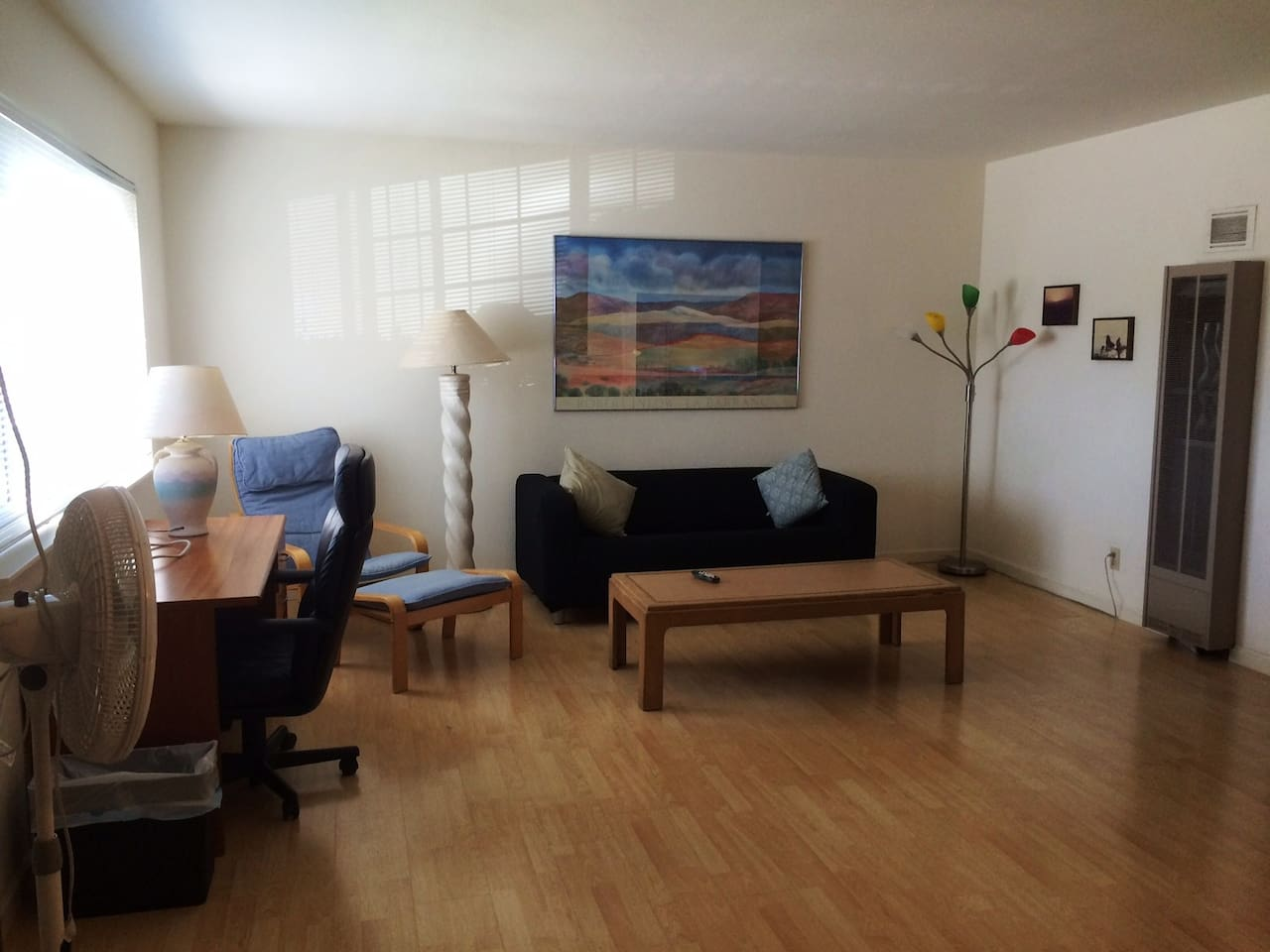 Bright and Airy 1BR
