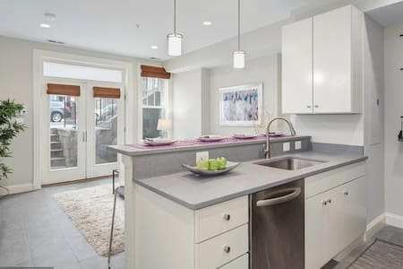 Private contemporary 1b/b in heart of DC - Apartamento