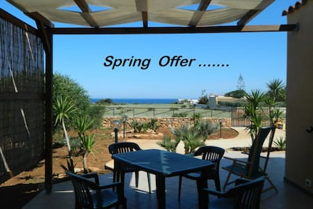 SPRING-OFFER ,  two-room apartment  SEA VIEW!!! - CUSTONACI - House