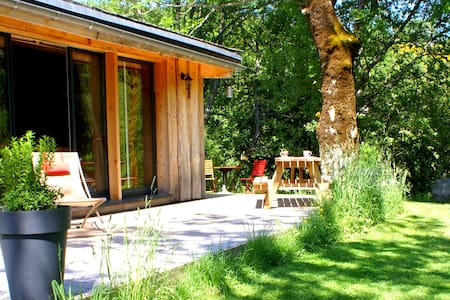 Lodge en pleine nature avec spa - House