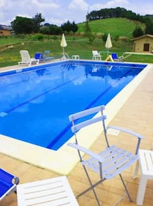 BIO FARMHOUSE, WITH LAKE AND SWIMMINGPOOL - Perugia