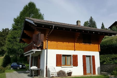 Cosy Chalet with a magnificent view - Gryon - Chalet
