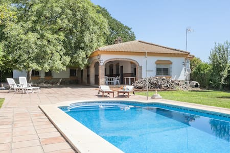 Great villa with pool near Seville - House