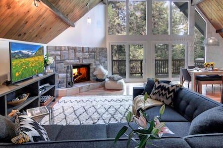 Modern Cabin Sleeps 12 - Ház