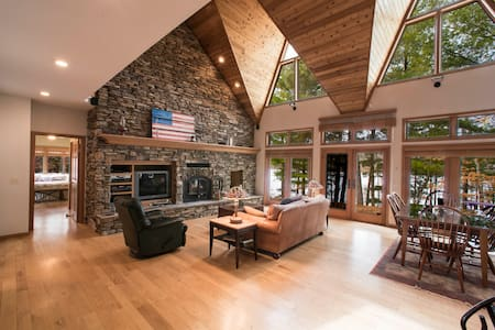 Long Lake Luxury-All Year Round - Birchwood - Casa de campo