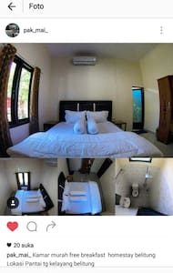 "Homestay Belitung "" Pak Mai'e"" - Kabupaten Belitung - Rumah"