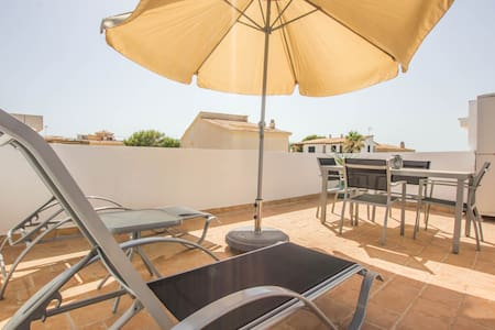 Covetes - Cozy little apartment on the beach - Ses Covetes - Apartment