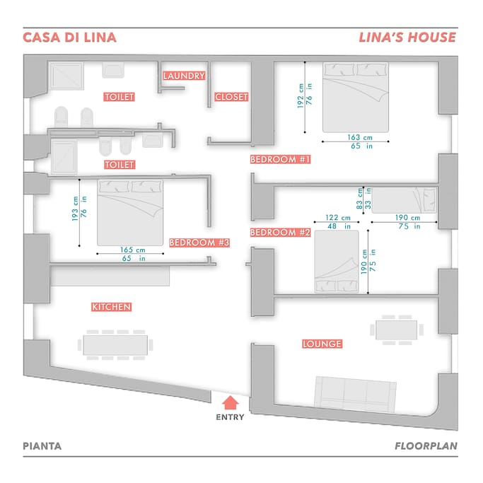 Floor Plan -  Piantina