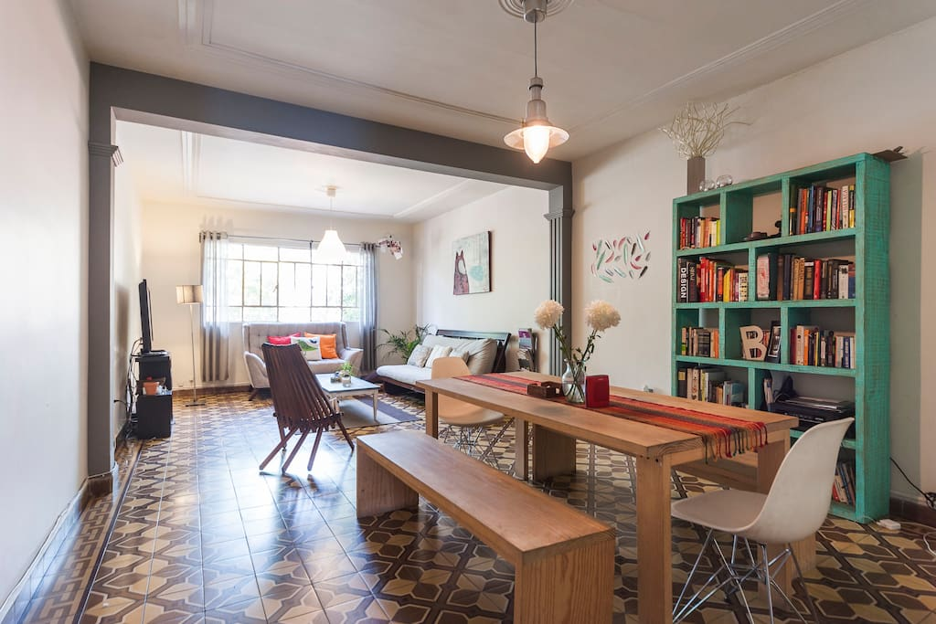 Big and cozy apartment in Roma Nort
