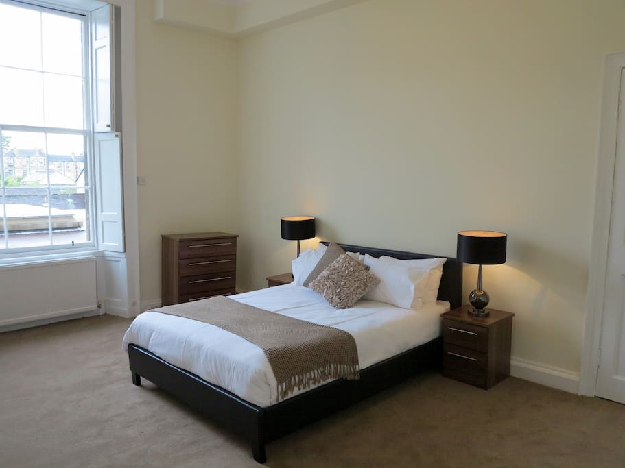 Large bedroom with King sized double