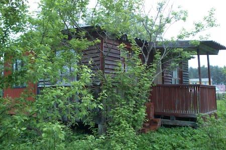 A little house in Luga area, Russia - Baranovo
