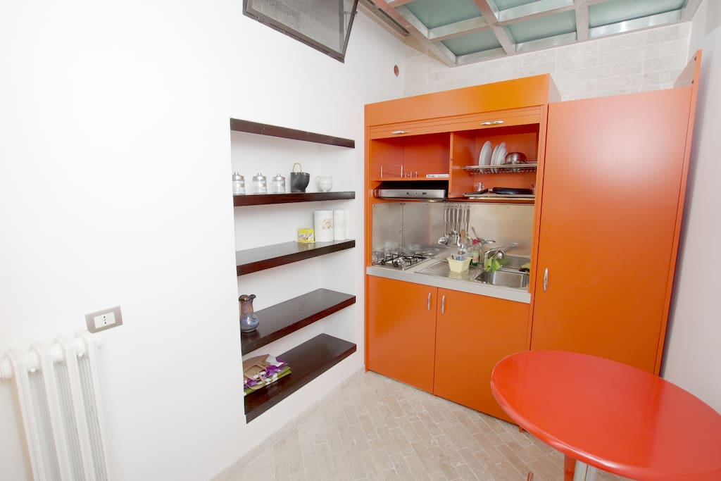 New modern fully equipped Kitchenette