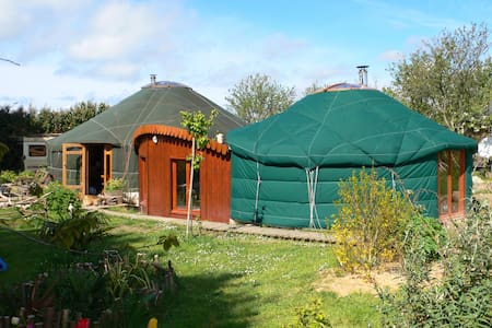 yourte d'habitation 105m² - Yurt