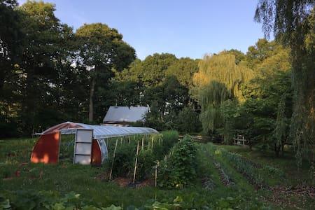 Coastal Organic Farm-15min to yale - East Haven