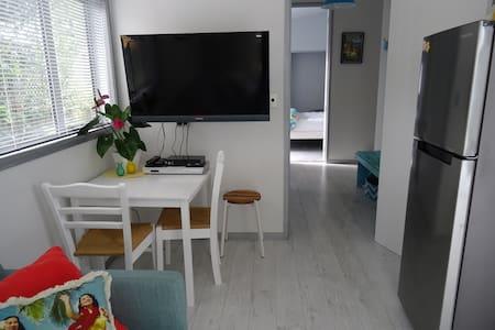 OmahaBeach modern 2 guest Apartment - Omaha - Appartement