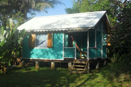 Caribbean-style Beachfront Cottage - Casa