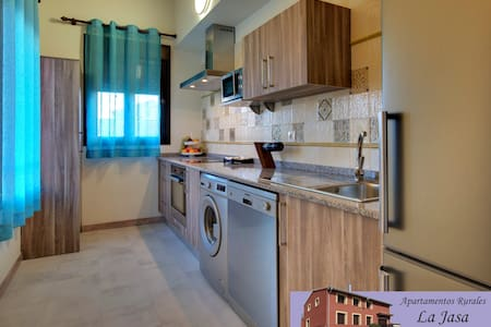 Apartment with terrace and views of the caves - Arguedas - Apartamento
