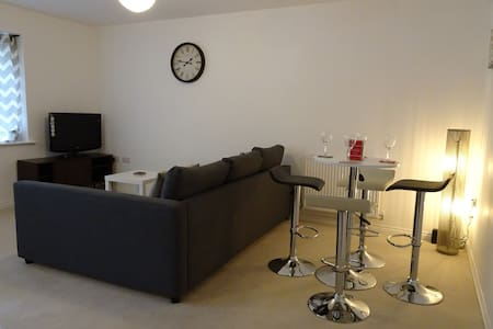 New Build 2 Bed Apartment with Private Parking - Leilighet
