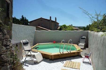 Maison ancienne avec piscine - Haus