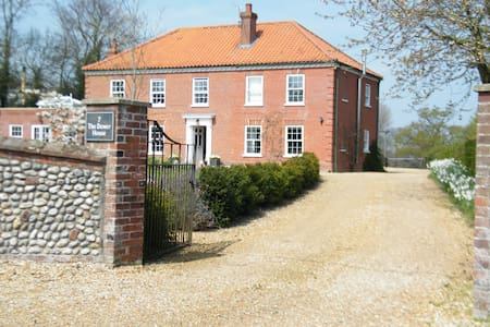 Stylish house offering luxury bed and breakfast - Great Ryburgh
