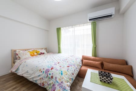 1 stop from Kyoto sta.Great access - Apartment